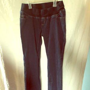 Dark Wash Liz Lange Maternity Bootcut Jeans
